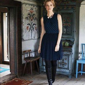 Anthropologie Sasonger Tulle Dress XS